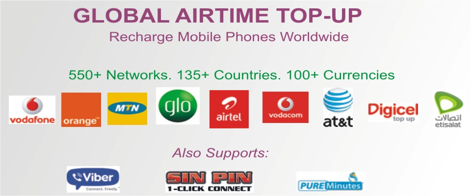 Buy/Send International Mobile Airtime Top-up and Bulk SMS